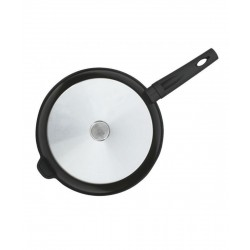 Антипригарная сковорода БИОЛ ''LUX'' 26 см, с ручкой с покрытием Soft-touch