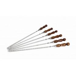 Шампур с деревянной ручкой 40 см