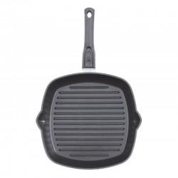 Cковорода-гриль с антипригарным покрытием и съемной ручкой (260 мм)