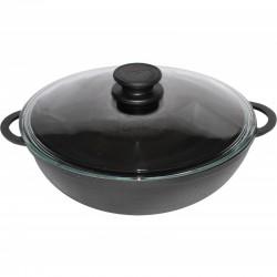 WOK сковорода чугунная (280 мм)